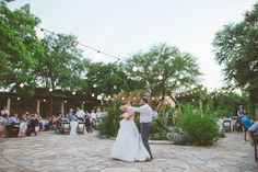 First Dance. Weddings at the Lady Bird Johnson Wildflower Center. #summerwedding Amanda Pomilla Photography