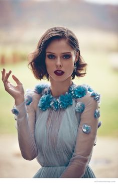 Coco Rocha for Hola Magazine, December 2014.