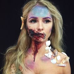 ⠀⠀⠀⠀⠀⠀⠀⠀⠀⠀⠀⠀⠀⠀⠀Hailee Clark @makeupbyhailee Hooked mermaid in...Instagram photo | Websta (Webstagram)