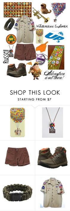 """""""Adventure is up there! -Russell (Disney Pixar UP)"""" by lennyroo ❤ liked on Polyvore featuring Marmot, Bogs and Bison Designs"""