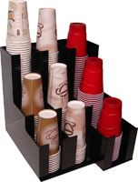 Soda and coffee cup/lid dispenser