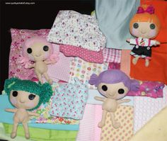 quirky artists   Quirky Artist Loft: Lalaloopsy like, Little Sister Rag ...   Lalaloop ...