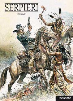 Mi roalico al sol: El West de Eleuteri Serpieri. Westerns, Fantasy Images, Fantasy Art, Serpieri, Western Comics, Tinta China, West Art, Graffiti, Fantasy Comics
