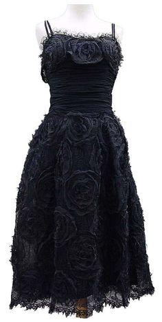 black dress outfits black