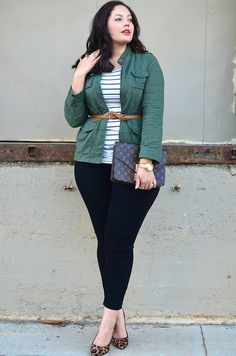 curvy everyday style I'm not THIS curvy, but I love the outfit