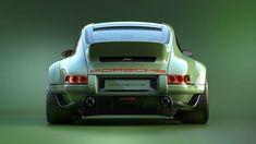 1990 Singer Porsche 964 DLS is the Steve Austin of Porsches Porsche 911 964, Porsche Carrera, Singer Porsche, Singer 911, Carros Porsche, Porsche Sportwagen, Porsche Sports Car, Porsche Cars, Porsche Classic