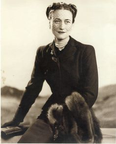 """""""You can never be too rich or too thin."""" ~ Wallis Simpson"""