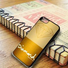Diamond Supply Co Gold iPhone 6|iPhone 6S Case