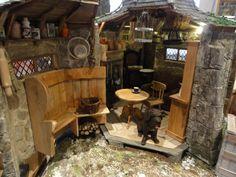 Le monde créatif de Catherine: Lintérieur de la hutte