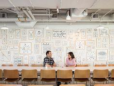 Airbnb Installation by Timothy Goodman, via Behance