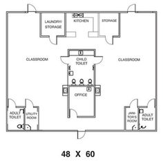 Decoration Ideas Child Care Floor Plans Day Care