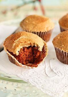 Spiced Apple Cupcakes with Maple Syrup Buttercream by raspberri cupcakes, via Flickr