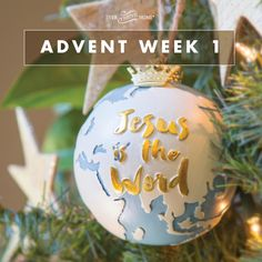 I'd like to extend an invitation for your calendar. Pencil in 10 minutes of family worship time for each Sunday of Advent, beginning this Sunday, November 27.  This time will help you be more intentional about teaching your family to honor and give thanks for Jesus' birth. We'll provide a short devotional, appropriate for any-aged children and families of all seasons, that explores the four Advent names of Jesus. Because the more we know of Him, the more we will adore Him.