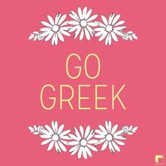 Go Greek by Adam Block Design | Custom Greek Apparel Sorority Clothes | www.adamblockdesign.com