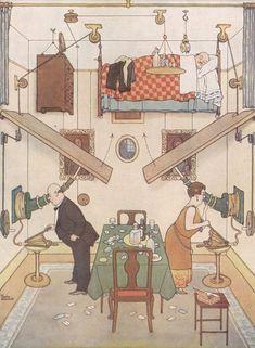 Гениальные изобретения Уильяма Хита Робинсона