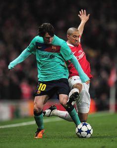 Lionel Messi Photos: Arsenal v Barcelona - UEFA Champions League