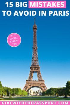Paris Travel Tips | What to do in Paris | Europe Travel | Paris Travel | France Travel | Mistakes to Avoid in Paris | Paris Itinerary | Paris Things to do | Paris Travel Guide | Things to do in Paris France | Paris France Travel Tips | Paris France Travel Guide | Paris France Things to do | Paris France Itinerary | Paris Photography | Paris Food | Places to go in Paris | Things to do in Paris | Where to stay in Paris| Best of Paris | Paris Guide #ParisFrance #ParisTravel #ParisGuide…