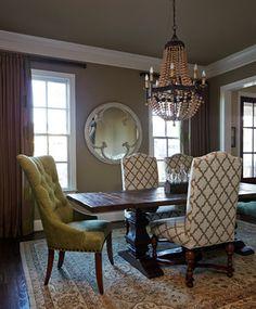 Wild Elm Residence - Transitional - Dining Room - Nashville - Red Leaf Interiors, LLC