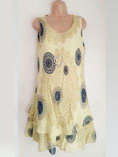 d31c27c3411 2019 dámské dámské módy květinové tisk bez rukávů letní plážové šaty ...