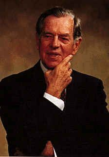 Joseph Campbell (1904-1987);  To synthesize the constant truths of history became the burning point of his life; to bridge the abyss between science and religion, mind and body, East and West, with the timeless linkage of myths became his task of tasks.