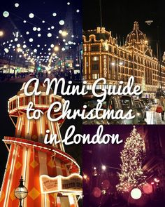 Christmas in London: Christmas markets, festive jumpers, the trees to see, ice rinks and a Christmas lights tour! All you need to get into the festive spirit.