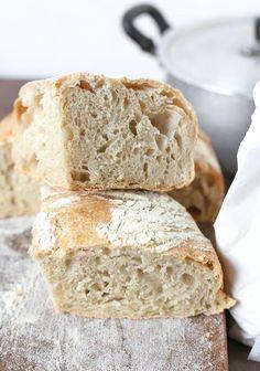 Ricetta pane senza impasto No knead bread Russell Hobbs, No Knead Bread, Biscotti, Bread Recipes, Cooker, Food, Panini, Mamma, Base