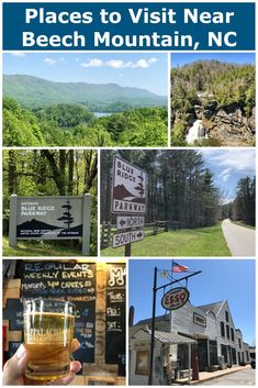 Things To Do In and Near Beech Mountain NC Beech Mountain, North Carolina is a great vacation destination in and of itself. This post will tell you other great things things to do within a short drive of Beech Mountain! Beech Mountain North Carolina, Banner Elk North Carolina, North Carolina Hiking, North Carolina Mountains, Vacation Destinations, Vacation Trips, Stuff To Do, Things To Do, Nc Mountains