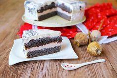 Bezmúčna čerešňová tortička Cheesecake, Low Carb, Desserts, Cakes, Tailgate Desserts, Deserts, Cake Makers, Cheesecakes, Kuchen