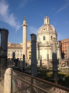 Colonna Traiana in Roma, Lazio