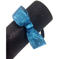 Drizella Turquoise Glitter Bow Non-Slip Headband ($15) ❤ liked on Polyvore featuring accessories, hair accessories, headbands & turbans, red, headband turban, bow hair accessories, headband hair accessories, red bow headband and red headband
