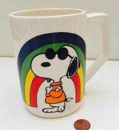 A personal favorite from my Etsy shop https://www.etsy.com/listing/461548472/vintage-1958-large-snoopy-peanuts-joe