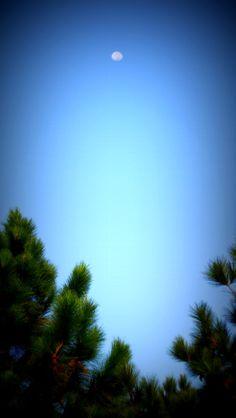 O céu azul de São José dos Campos.