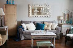 velvet slip cover for Ikea Ektorp Sofa Living Room Color Schemes, Living Room Colors, Living Room Decor, Living Rooms, Living Spaces, Brown And Cream Living Room, Brown Couch Living Room, Winter Living Room, Cozy Living