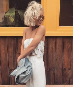 "1,610 mentions J'aime, 6 commentaires - Laura Jade Stone (@laurajadestone) sur Instagram : ""Cutest Two piece by @littlelace """