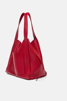 246dcd3044 Image 1 of LEATHER SHOPPER from Zara Fab Shoes