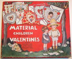 Vintage Valentine's Day Card Box by riptheskull, via Flickr