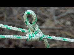 5 OUTDOORSMAN KNOTS - Truckers Hitch, Bowline, Tautline, Prusik, Chain Sinnet - YouTube