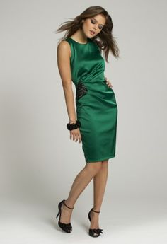 Homecoming Dresses - Satin Short Dress from Camille La Vie and Group USA