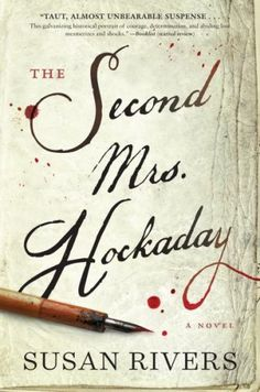 Part mystery book, part historical fiction, this book is sure to please everyone! Featuring The Second Mrs. Hockaday by Susan Rivers.