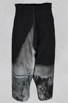 Embossed Printed Trousers in Design 003 - Rundholz Mainline