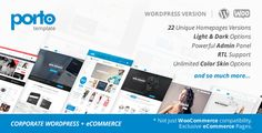 Porto v3.1 – Responsive WordPress + Woocommerce Theme