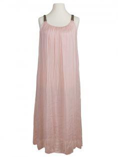 Damen Trägerkleid mit Seide, rosa von Diana bei www.meinkleidchen.de