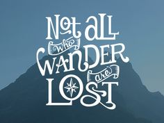 Hand lettered quote by J.R.R. Tolkien. (Jeff Jenkins)