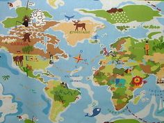 John lewis world map pvc cut length tablecloth blue 1800 product john lewis world map pvc cut length tablecloth blue 1800 product code 65273401 fabric width 130cm material 75 cotton 25 polyester was pinteres gumiabroncs Choice Image