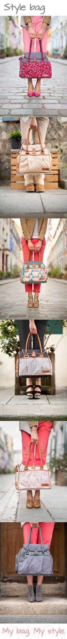 Le sac à langer Style Bag et ses 6 coloris pour que chaque maman trouve un sac à son image ! #MyBagMyStyle #Babymoov #ChangingBag #Smart #DailyBag #FashionMum #bébé #baby #sac #sacàlanger