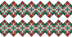 ArtbyJean - Borders: Seamless Borders with zigzag edges in sets of 20 (...