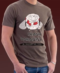 Camiseta promocional de Trash Paradise.  #trash #paradise #tshirt