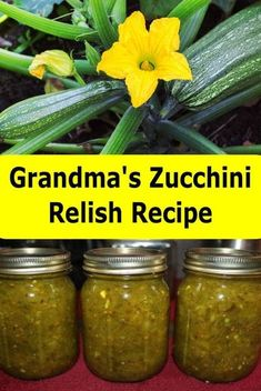 Zucchini Relish Grandma's Delish Zucchini Relish Recipe - passed down for generations.Grandma's Delish Zucchini Relish Recipe - passed down for generations. Zuchini Relish, Zucchini Relish Recipes, Canning Zucchini, Zucchini Pickles, Zuchinni Recipes, Pickled Zucchini, Zucchini Salsa, Recipe For Baked Zucchini, Courgette Chutney Recipe