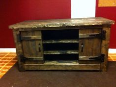 pallet tv stand | rustic TV stand/console - eclectic - side tables and accent tables ...