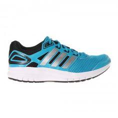 Adidas Duramo 6 Running Trainer Mens - Solar Blue / Metallic Silver / Black Adidas Running Trainers, Adidas Sneakers, Running Training, Training Shoes, Fitness Shoes, Workout Shoes, Asics, Adidas Men, Solar